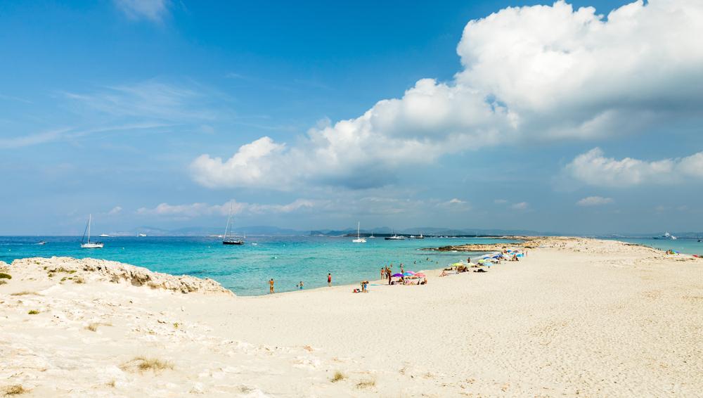 mooiste stranden europa - playa de ses illetes