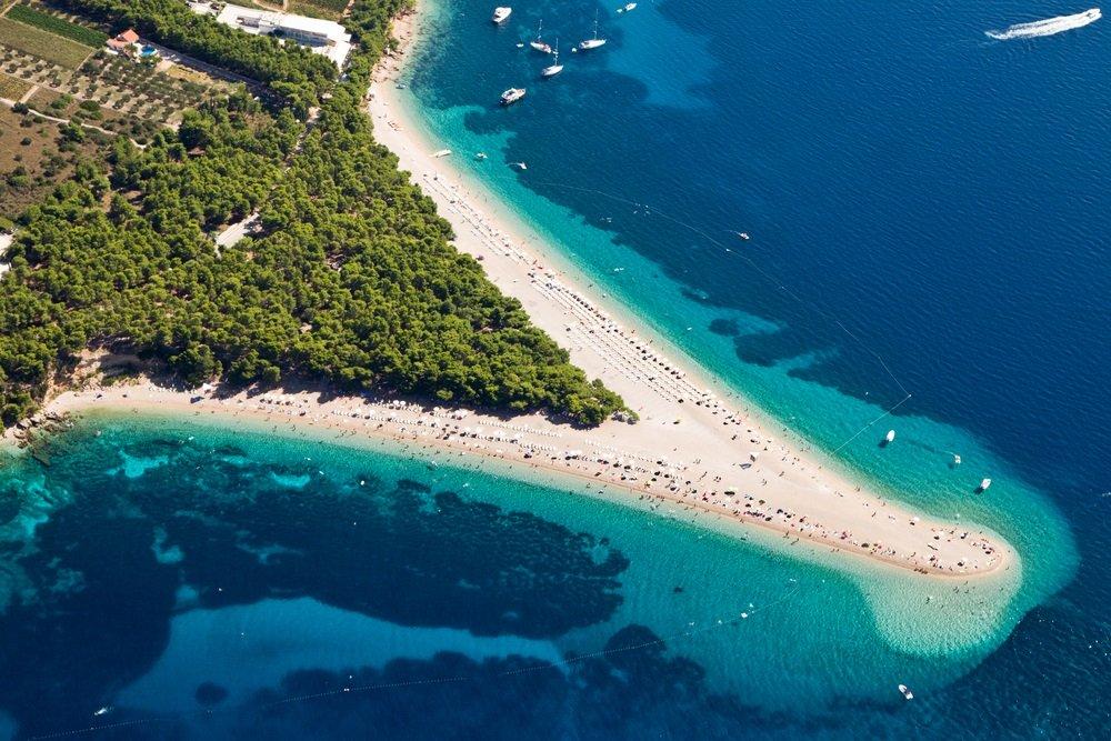 mooiste stranden europa - zlatni rat