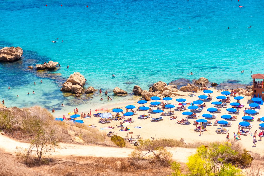 mooiste stranden europa - konnos bay