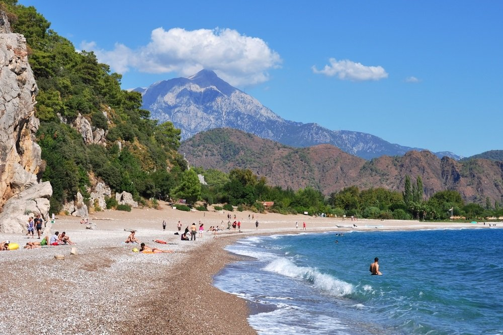 mooiste stranden turkije - olympos beach