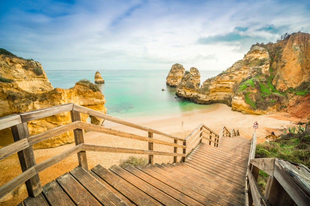 mooiste stranden van portugal - camilo beach