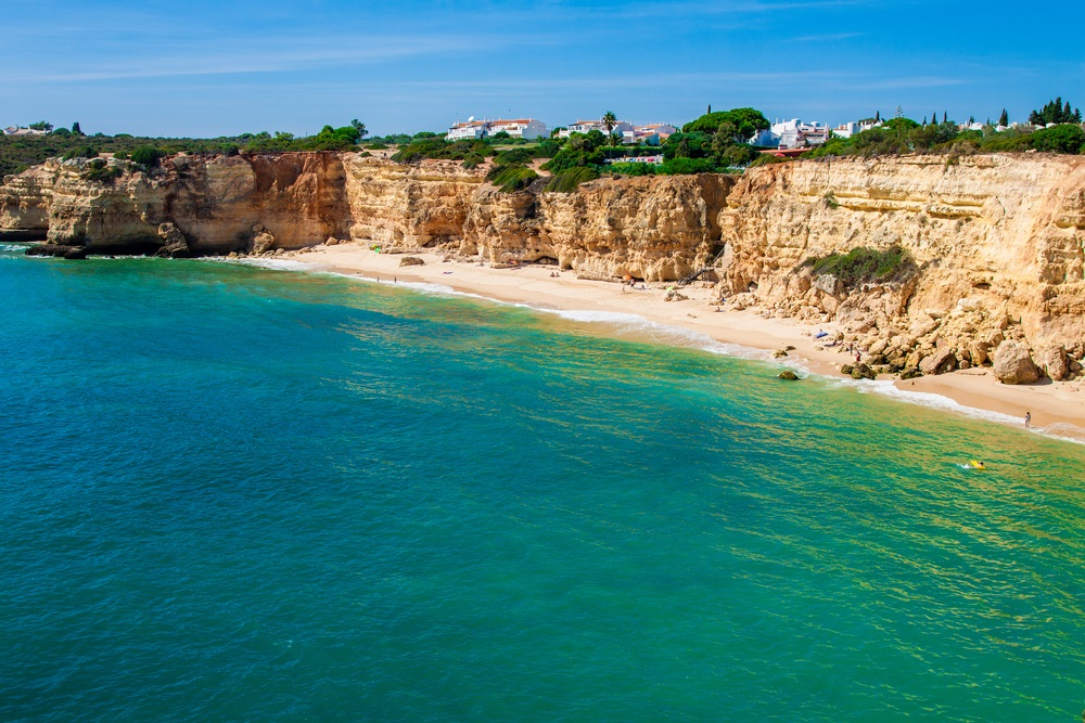 mooiste stranden van portugal - praia da rocha