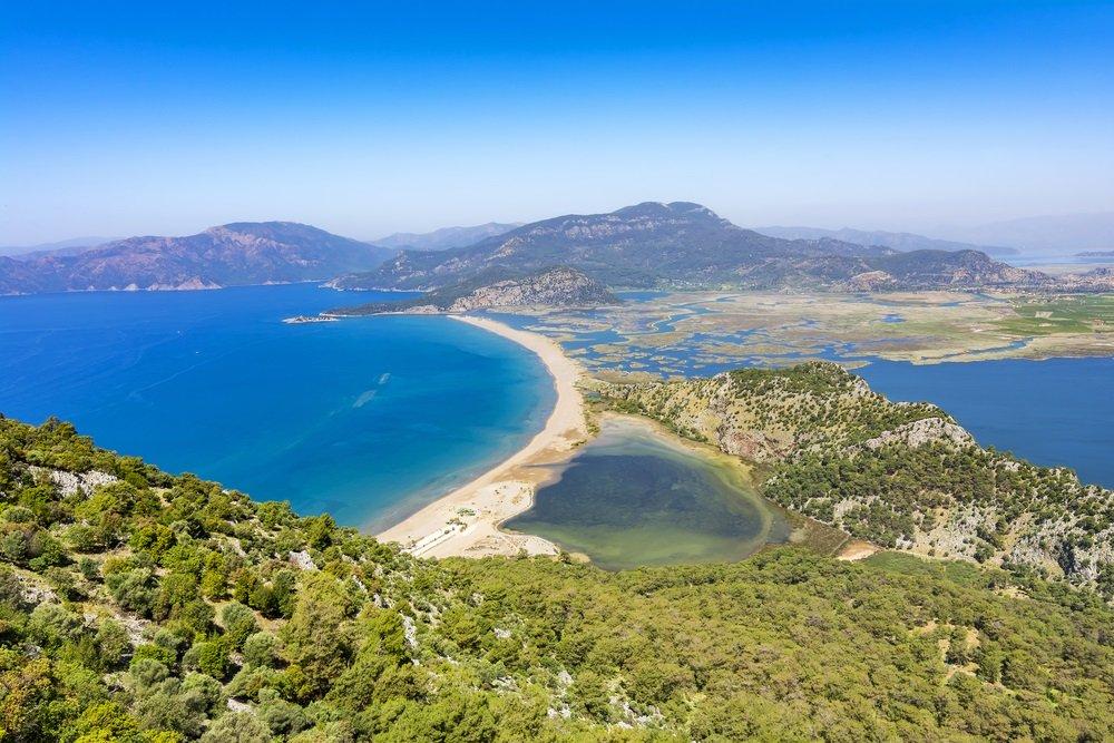 mooiste stranden turkije - iztuzu beach