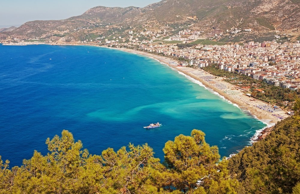 mooiste stranden turkije - kleopatra beach