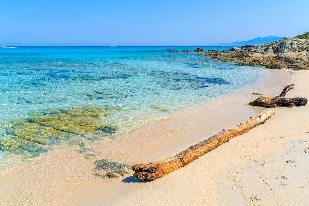 Saleccia strand corsica - mooiste stranden frankrijk
