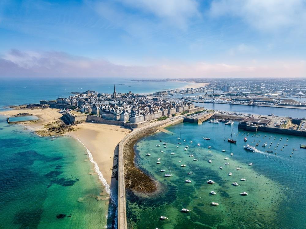 saint malo strand bretagne - mooiste stranden frankrijk