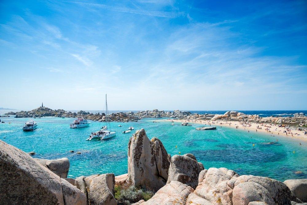 Iles Lavezzi mooiste stranden corsica