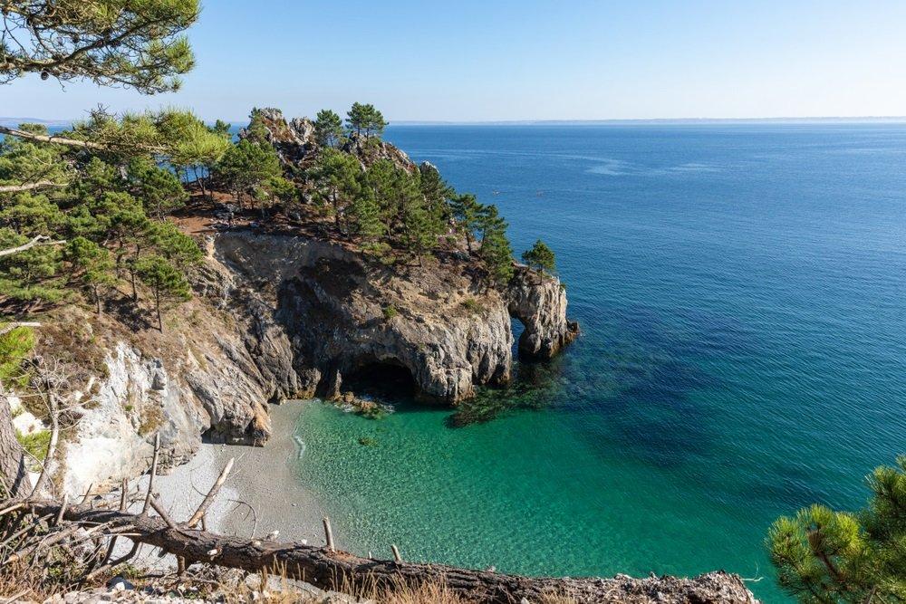 lile vierge bretagne strand - mooiste stranden frankrijk