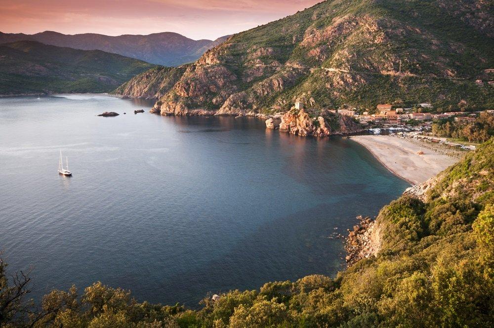 mooiste stranden corsica - porto beach