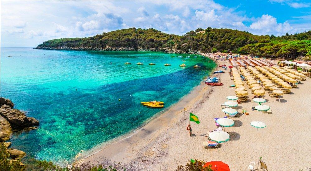 mooiste stranden toscane