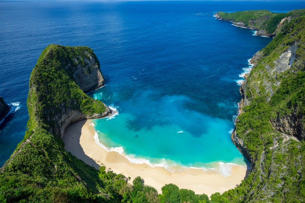 mooiste stranden indonesie - Kelingking Beach