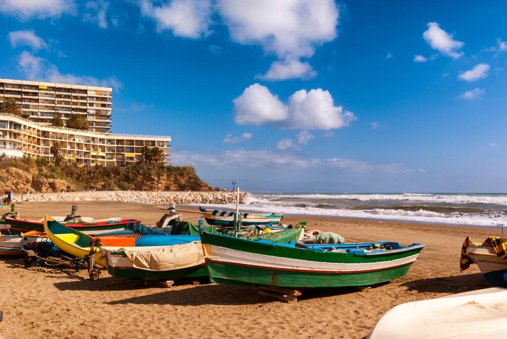 mooiste strand andalusie - Playa la Carihuela