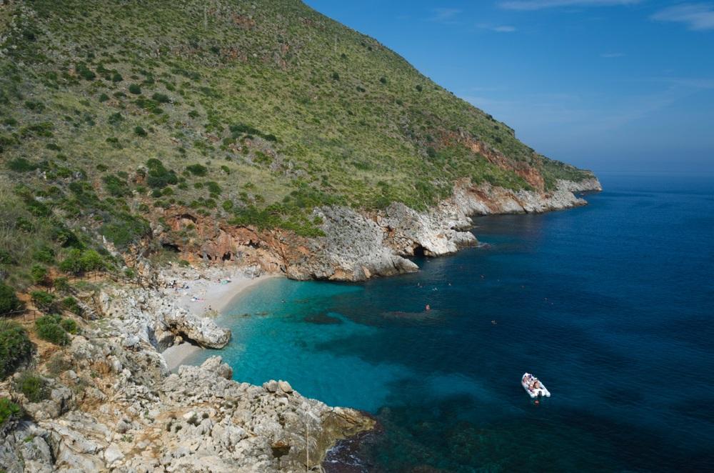 mooiste stranden sicilie - Capreria Beach