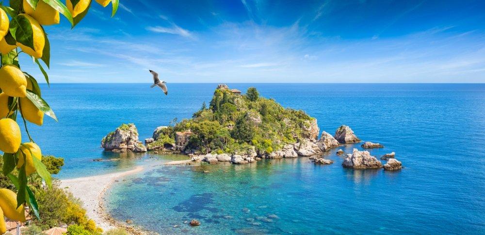 mooiste stranden sicilie - Isola Bella