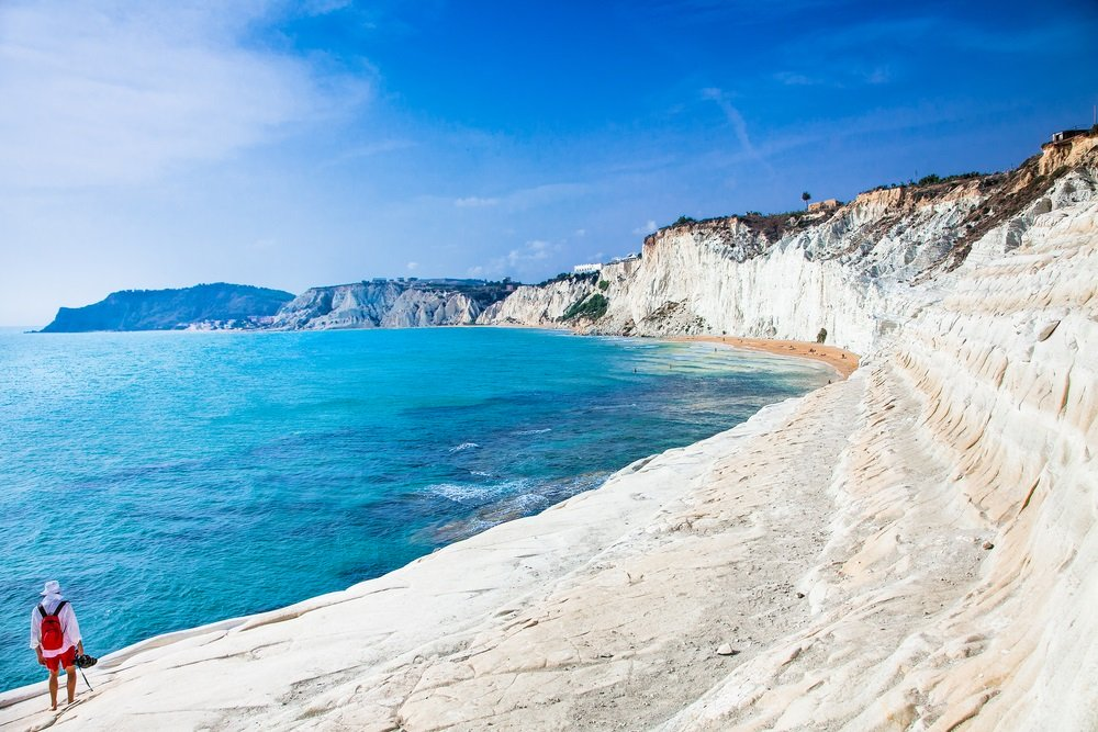 mooiste stranden sicilie - Scala dei Turchi