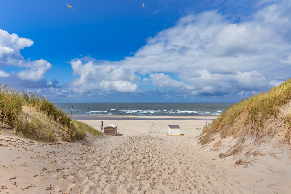 mooiste stranden texel - Paal 17